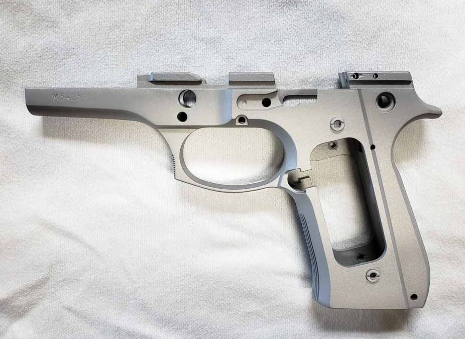 Hand Gun Frame